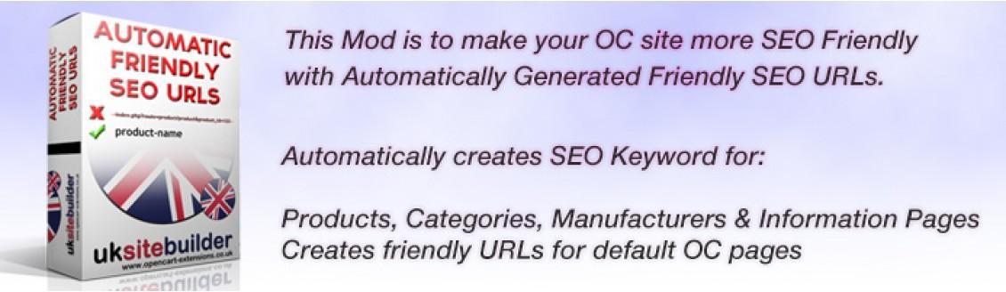 Auto SEO URLs