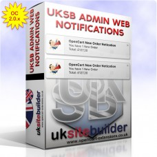 Admin HTML5 Web Notifications